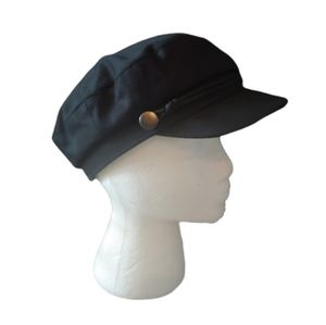 H&M black newsboy hat size medium